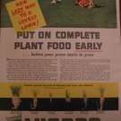 Vigoro Plant Food 1939 Authentic Print Ad