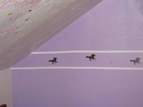 "Wall Vinyl Border Stripe Peel n Stick 1"" 4"" 6"" Sticker"