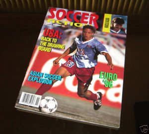 Soccer action magazine 11 94 usa england euro women 39 s for Prem league table 99 00
