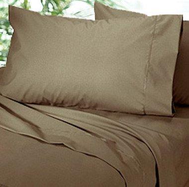 1000 TC Royal Egyptian Cotton 7PC MUSHROOM Bedding Set Queen Size