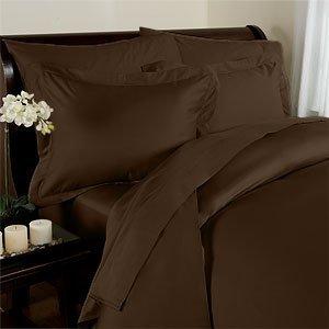 1000 TC Royal Egyptian Cotton 7PC Chocolish Bedding Set King Size