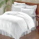 1000 TC Royal Egyptian Cotton WHITE 5PC Bedding Set King Size