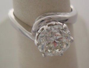 Diamond 1.82 cts in Platinum Ring