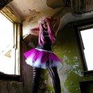 Hot Pink White Adult TuTu Faerie Cosplay Ballet Skirt medium