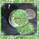 Curse Green Loose Glitter Makeup Cyber Gothic 5 Gram  ---FREE Shipping