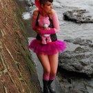 Micro Mini Hot Pink Faerie Ballet Adult Tutu Tulle Skirt Medium