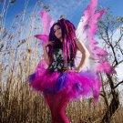 Cheshire Cat Pink Purple Retro Adult TuTu Tulle Skirt Medium