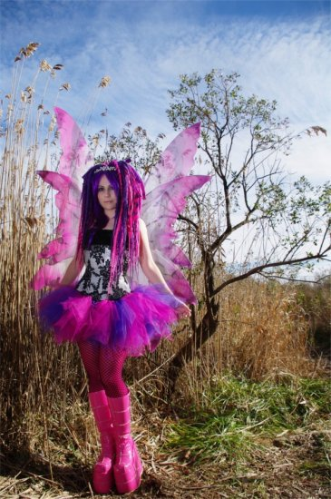 Cheshire Cat Pink Purple Retro Adult TuTu Tulle Skirt Large