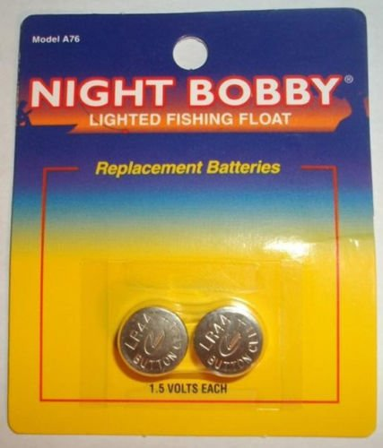 LR44 1.5 Volt battery set for the Rieadco Night Time Fishing Bobber Led Bobby Replacement Batteries