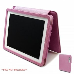 iLuv Apple iPad Book Style 360 Degree Flip Foldable Leather Case for all iPads