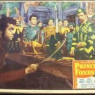 PRINCE OF FOXES Lobby Card ORSON WELLES Tyrone Power 49