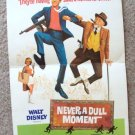 NEVER A DULL MOMENT Dick Van Dyke WALT DISNEY Poster 68