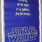 STAR WARS Advance TEASER Movie POSTER George Lucas 1977