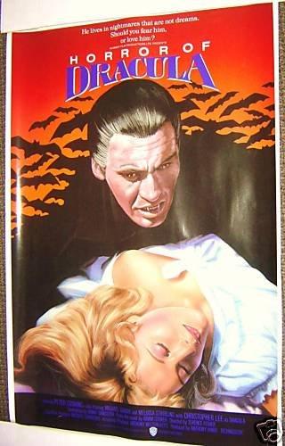 HORROR OF DRACULA  Hammer Films   POSTER  Peter Cushing