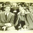 JOAN FONTAINE Burt Lancaster  ORIGINAL Photo FILM- NOIR