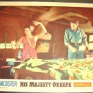 BURT LANCASTER His Majesty O'Keefe LOBBY CARD Joan Rice