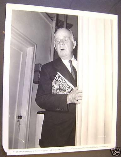HENRY TRAVERS Original PHOTO Alfred Hitchcock FILM-NOIR