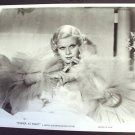 JEAN HARLOW Dinner at Eight  PHOTO Metro-Goldwyn Mayer