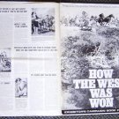 HOW THE WEST WAS WON Original PRESSBOOK  Carroll Baker