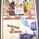 MARRIAGE ON THE ROCKS Poster DEBORAH KERR Frank Sinatra