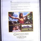 Greystoke: The Legend of TARZAN, Lord of APES   Poster