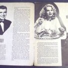 MARIE WILSON  Blackouts of 1947 KEN MURRAY  El Capitan