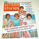 LENNON SISTERS  SIGNED  In  Person  AUTOGRAPH  Magazine