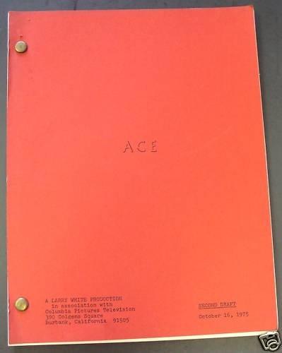 ACE Original SCRIPT Bob Dishy JERRY DAVIS Rae Allen '76