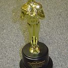 MOVIELAND Wax Museum Gold MOVIE STATUE Awards Show LOOK
