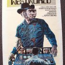 WESTWORLD 1-Sheet POSTER James Brolin YUL BRYNNER Robot