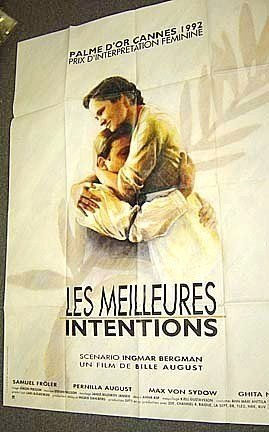 INGMAR BERGMAN  Best Intentions  POSTER Pernilla August