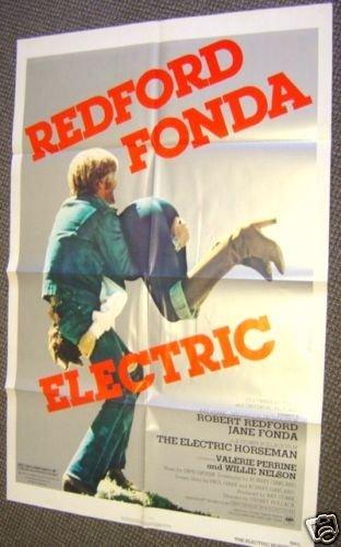 ROBERT REDFORD The ELECTRIC HORSEMAN  Poster JANE FONDA