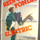 ROBERT REDFORD The ELECTRIC HORSEMAN  Poster JANE FONDA