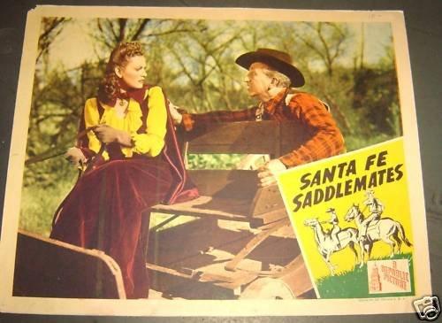 REPUBLIC PICTURES Santa Fe Saddlemates LOBBY CARD