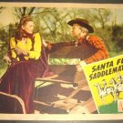 REPUBLIC PICTURES Santa Fe Saddlemates LOBBY CARD