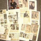 GIG YOUNG Original CLIPPINGS Photo Images SCRAPBOOK 60s