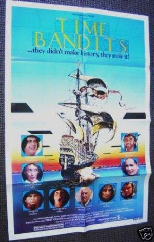 TIME BANDITS Original 1-SHEET Movie POSTER Sean Connery