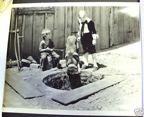 OUR GANG  Hal Roach ORIGINAL PHOTO  Dog is Dogs!  1931