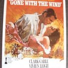 GONE WITH THE WIND  Original  M.G.M. Movie  POSTER MGM