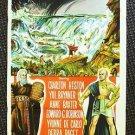 The TEN COMMANDMENTS Original POSTER Charlton Heston 10