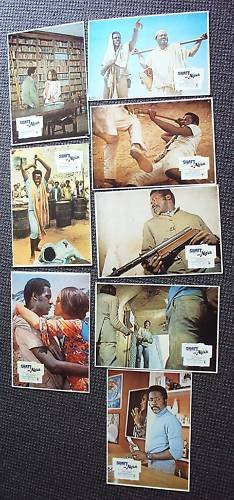 SHAFT in AFRICA Foreign 8 LOBBY CARD  RICHARD ROUNDTREE