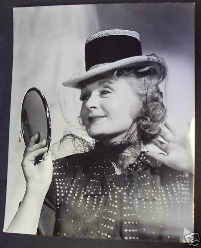 BILLIE BURKE Original PHOTO Wizard of Oz TOPPER RETURNS