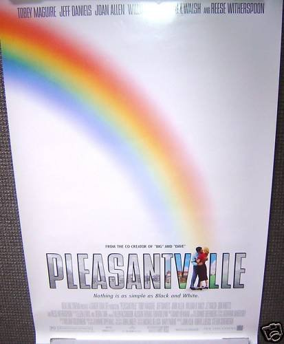 PLEASANTVILLE Poster TOBEY MAGUIRE Reese Witherspoon 93