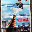 MICHAEL J FOX  The SECRETT OF MY SUCCESS Poster SUCCE$S