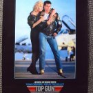 TOP GUN Original NAVY Poster TOM CRUISE  Kelly McGillis