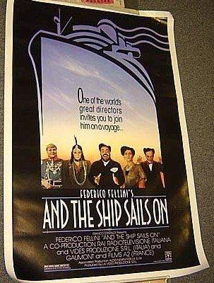 Federico FELLINI e la nave va AND THE SHIP SAILS ON '83
