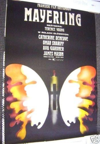 CATHERINE DENEUVE Original POLISH Poster MAYERLING 1968