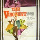 KERWIN MATHEWS The VISCOUNT Poster SPY  James Bond Type
