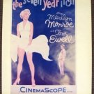 MARILYN MONROE The SEVEN YEAR ITCH  Iconic Image POSTER
