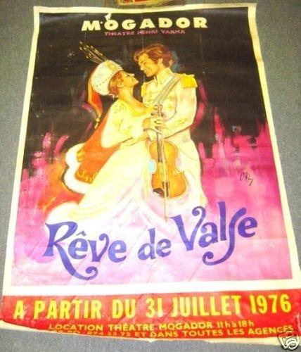 THEATRE MOGADOR Paris FRANCE Origial POSTER Henri Varna